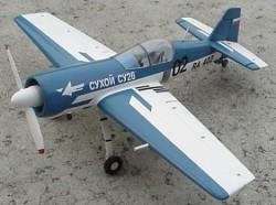 Sukhoi SU-26 MX model airplane plan