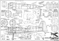 Sukhoi Su 26M RCM model airplane plan