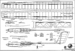 Sundancer model airplane plan
