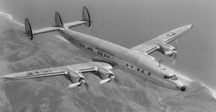 super constellation model airplane plan