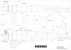 Super 60 model airplane plan