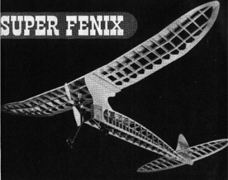 Super Fenix model airplane plan