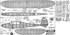 Super Jabberwock model airplane plan