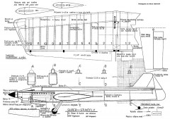 Super Stuntfly CL 56in model airplane plan