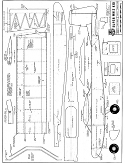 Super Whiz Kid model airplane plan