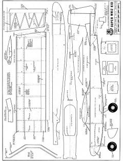 Super Whiz Kid model airplane plan