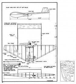 Super Wing model airplane plan