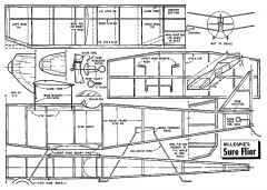 Gillespie's Sure Flier model airplane plan