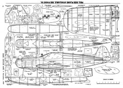 Sure Fun-MAN-11-57 model airplane plan