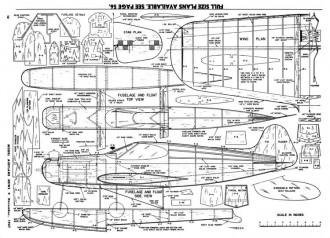 Sure Fun-MAN-11-57 model airplane plan
