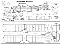 Svenska SK8 Skolfalken model airplane plan