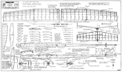 Swallow model airplane plan