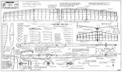 Swallow model airplane plan