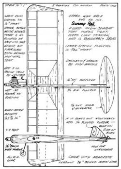 Swamp Rat model airplane plan
