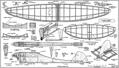 Swayback AT 1954 model airplane plan