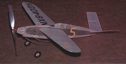 Swee Pea model airplane plan