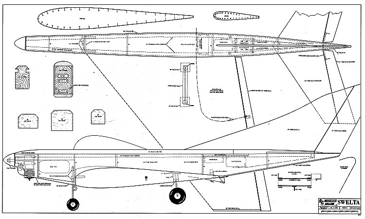 Swelta model airplane plan