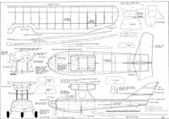 Switcheroo model airplane plan