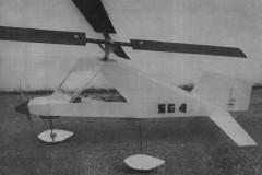 Synchrogyro model airplane plan