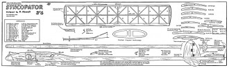Syncopator model airplane plan