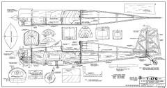 T-170 model airplane plan