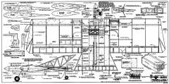 T-Bird model airplane plan