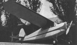 T-D Coupe model airplane plan