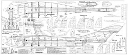 T15 Amphibian model airplane plan