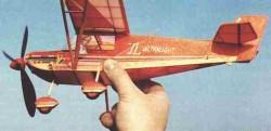 TL-132 Condor model airplane plan