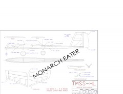 TMSS-HL Skeeter-Hawk model airplane plan