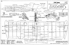 Talon model airplane plan