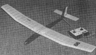 Tanita model airplane plan