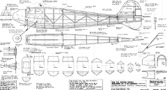 Tansley T-9 model airplane plan