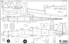 Tarman RCM-406 model airplane plan