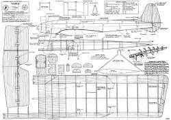 Taurus model airplane plan