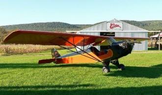 Taylor Cub F2 model airplane plan