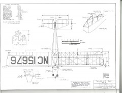 Taylor E2 Cub model airplane plan