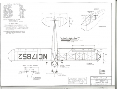 Taylor J-2 Cub model airplane plan