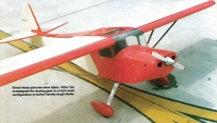 Taylorcraft Clipped Wing model airplane plan
