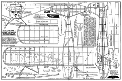 Taylorcraft FF 36in model airplane plan