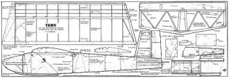 Tern model airplane plan