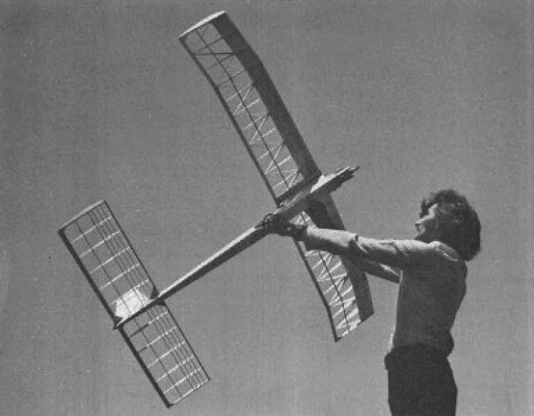 Texan 750 model airplane plan