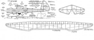 Gö 1 Wolf model airplane plan
