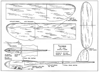 Thermus model airplane plan