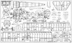 Thomas Morse S4C Scout model airplane plan