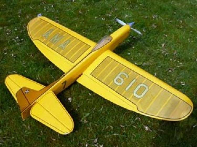 Thunderbird II model airplane plan