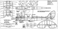 Tiger Moth-RCM-592a model airplane plan