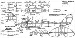 Tiger Moth-RCM-592a model airplane plan