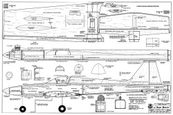 Tiger Panzer model airplane plan