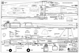 Tiger Panzer model airplane plan